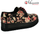 Pantofi dama model floral Prego - Model 134