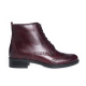 Ghete dama din piele naturala - Bordo Box - 273 BB